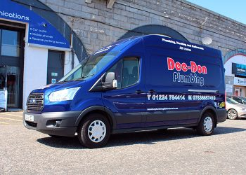 Dee-Don Plumbing Vehicle Livery