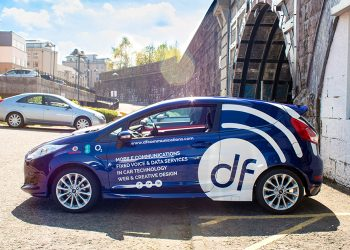 DF Communications Vehicle Livery