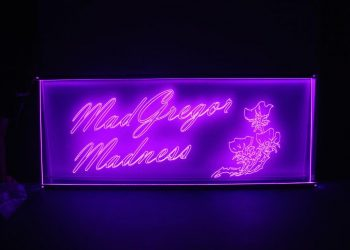 Engraved Acrylic CW Led